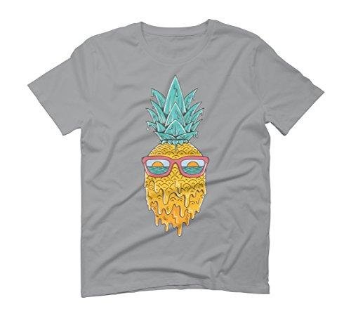 Pineapple summer Men's Graphic T-Shirt - Design By Humans Opal