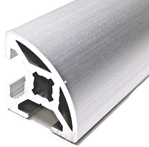 Alu Profil Aluprofil LR Nut B 6 R20-90 Aluminiumprofil 725mm Länge