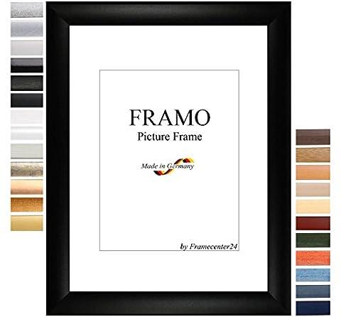 FRAMO 50mm Cadre photo sur mesure pour photos de 20 x 131 cm, couleur : Or simple, cadre fait main en MDF doté d'un verre synthétique antireflet incassable et d'un fond résistant, largeur du cadre : 50 mm, dimensions extérieures : 28,6 cm x 139,6