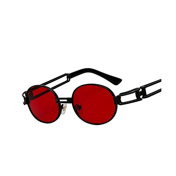 f51433e34a Gafas de sol Steampunk Espejo Rojo TIANLIANG04 - Modasteampunk