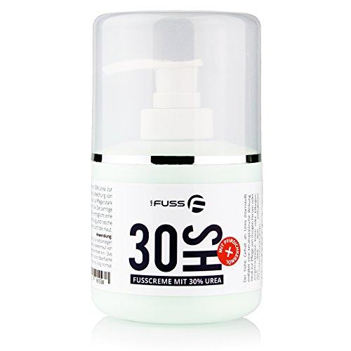 30HS Fusscreme mit 30% Urea (Harnstoff) Schrundencreme Schrundensalbe gegen trockene und rissige Haut