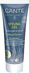 SANTE Naturkosmetik Styling Gel Natural former, Modelliert & fixiert, Festigt das Haar & gibt Halt, Feuchtigkeitsspendend, Vegan, 50ml