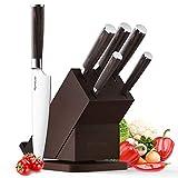 Best Knife Block Sets - Knife Set, Homever Kitchen Knife Set 6-Piece Stainless Review