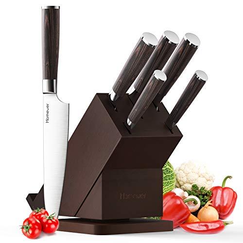 Knife Set, Homever Kitchen Knife...