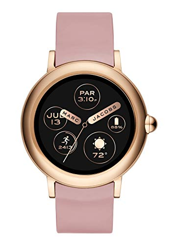 Marc Jacobs Riley Gen 3 in silicone rosa da donna Smartwatch MJT2004