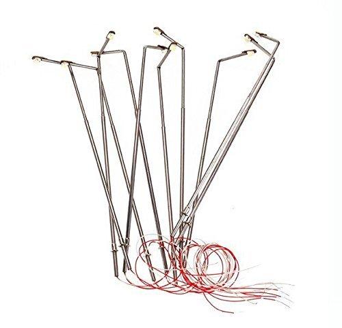 EEvER Ever niedliche Plüsch-Spielzeuge, Puppen, Maßstab 1:500, 3 V, Einzelkopfmodell, Straßenbeleuchtung, Lampe, Modellbauwerkzeuge für Landschaftsbeleuchtung
