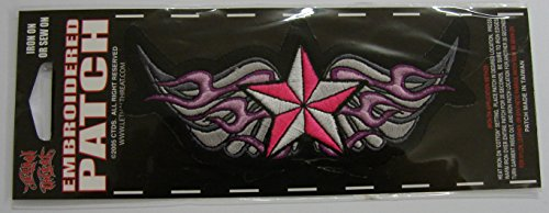 LETHAL THREAT toppa con logo Tribal ali 14x 6cm st31027