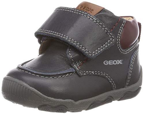 Geox Baby Jungen B New BALU\' Boy B Sneaker, Blau (Navy/Bordeaux C4335), 22 EU