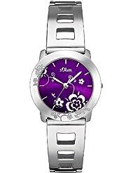 s.Oliver Damen-Armbanduhr Quarz SO-1662-MQ