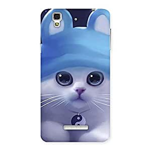 Delighted Tie Chi Cat Multicolor Back Case Cover for Yu Yureka