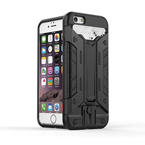 JIALUN-Telefon Fall IPhone6 6s 4.7 Fall, PC + TPU abnehmbares 2 in 1 rückseitige Abdeckung Kühler Telefonkasten ( Color : 9 , Size : Iphone 4.7 ) 1