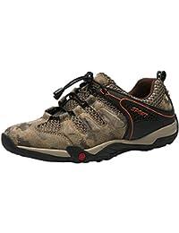d01e747c50b59 HhGold Hombres Caminan al Aire Libre Camuflaje Zapatos para Caminar Zapatos  Deportivos Ligeros Ocasionales Antideslizantes Zapatos