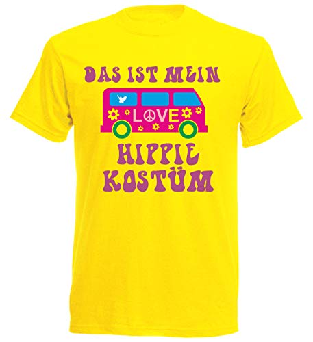 Kostüm Prinzessin Und Prinz Frosch - aprom T-Shirt Hippie Kostüm Karneval Fasching Gruppenkostüm JGA (XL)