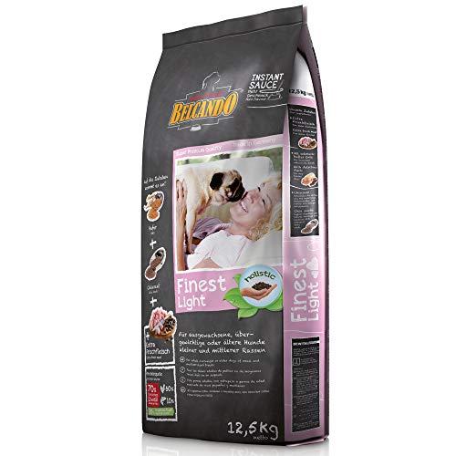 Belcando Finest Light [12,5 kg] Hundefutter | Trockenfutter für kleine & mittlere übergewichtige Hunde | Alleinfuttermittel für Hunde ab 1 Jahr