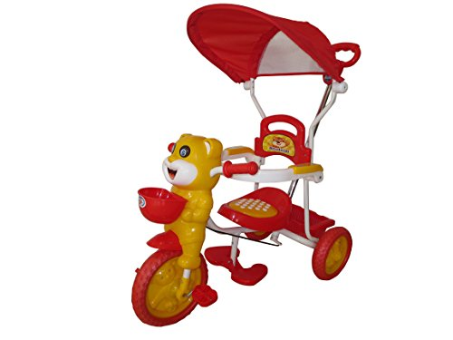 HLX-NMC HAPPY TIGER KIDS ROCKING TRICYCLE - RED/YELLOW(EASY ASSEMBLY EDITION)  available at amazon for Rs.2550