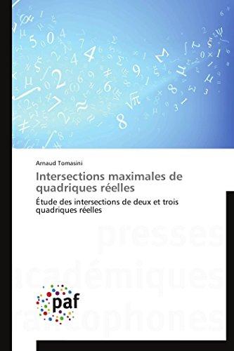 Intersections maximales de quadriques réelles
