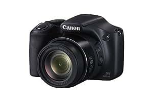 Canon PowerShot SX520 HS BLK Fotocamera Compatta Digitale, 16 Megapixel, Nero