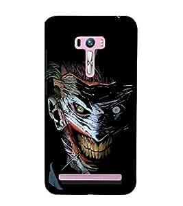 printtech Joker Gotham Art Scary Back Case Cover for Asus Zenfone 6::Asus Zenfone 6 A600CG