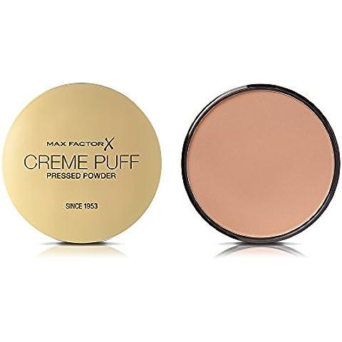 Max factor - Creme puff compact powder, base de maquillaje, color 41 beige medio