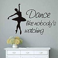 Wall Sticker Dance Like Nobody