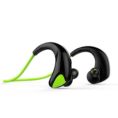 Z&YQWireless Bluetooth Kopfhörer Binaural Neckband Automatische Speicherlinie Sport Kopfhörer Sweatproof , 5/5000 grēn Grün
