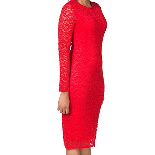 JOTHIN - Robe - Portefeuille - Femme blanc Weiß taille unique Rouge