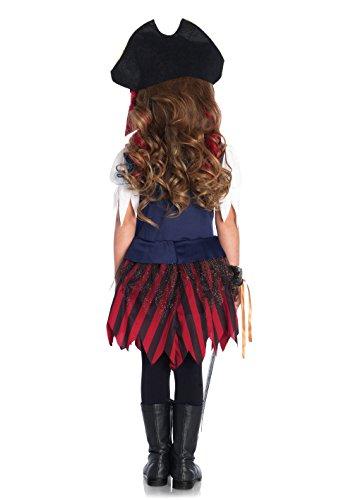 Imagen de disfraz tesoro de pirata niña 7 9 años 122/134  alternativa