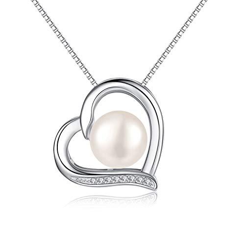 77555d3050c6 Collar de perlas rojas para mujer