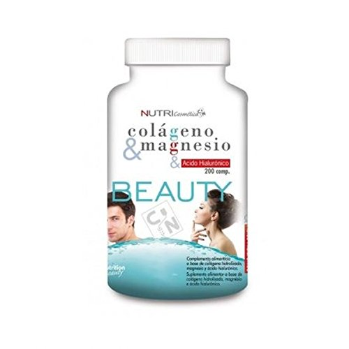 Beauty Colágeno Con Magnesio + Acido Hialurónico 200 Comp de Cn