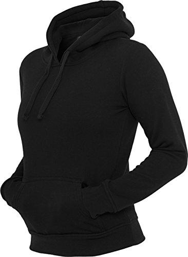 Urban Classics - Ladies Hoody, TB222 Damen Pullover black Black