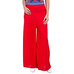 Diva Boutique Womens Palazoo (rl-01_Red_32)