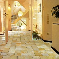 Solnhofener Natursteinplatten, Formatplatten (33cm x 33cm) -geschnitten- für Böden, Dicke ca. 10-12mm