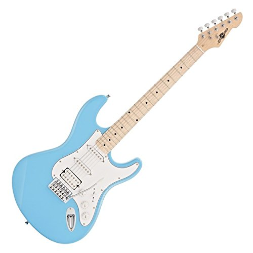 GUITARRA ELECTRICA LA II HSS DE GEAR4MUSIC   SKY BLUE