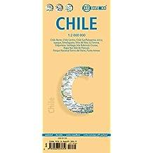 Chile: 1:2000000. Einzelkarten: Chile, Patagonia 1:2 000 000, Parque Nacional Torres del Paine 1:240 000, Isla Robinson Crusoe 1:200 000, Rapa Nui ... administrative & time zones (Borch Maps)