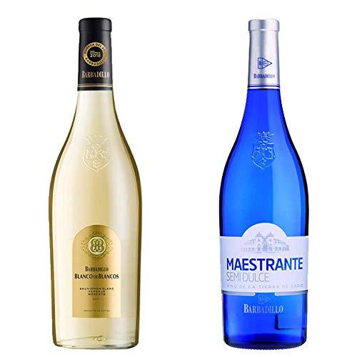 Blanco De Los Blancos Y Maestrante Semidulce - Vinos De Barbadillo - 2 Botellas De 750 Ml
