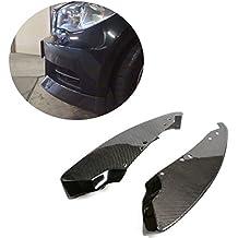 Jcsportline Carbon Fiber Front Splitters grembiuli per BMW E82Coupe m sport 2008–2013(Fit: M Sport paraurti)