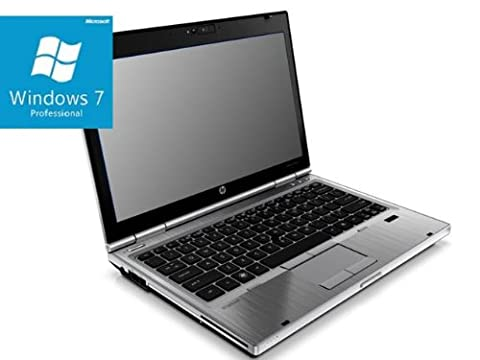 Hewlett Packard 2560p EliteBook/Intel 2620M Core i74x 2700mhz/12,5/1366X 768WXGA/Intel HD Graphics partagée Memory/4096Mo/128Go/DVDRW/Ethernet LAN WiFi Bluetooth Fingerprint Webcam/w7pro64/de/Batterie OK/GK WM//RETAIL Orange/2ème choix