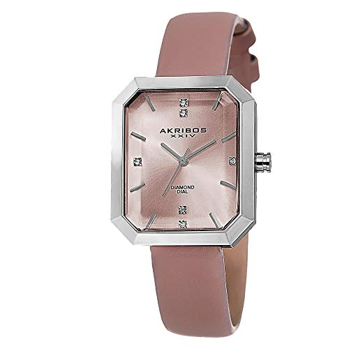 Akribos XXIV Damen ak749pk Lady Diamond Analog