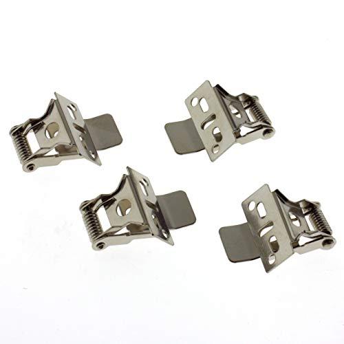 Montage-Clips für SeKi LED Panele; passend für alle Abmessungen; Montageklammern für LED Panele -