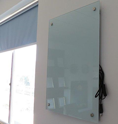 FERN INFRAROT GLASHEIZUNG neueste Technologie 300W Glaspaneele in weiss auf Carbon Crystal kaufen  Bild 1*