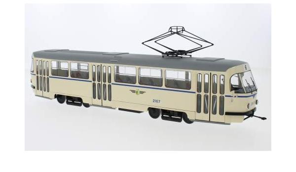 Unbekannt Tatra T4 Leipziger Verkehrsbetriebe 0 Modellauto Fertigmodell Premium Classixxs 1 43 Spielzeug