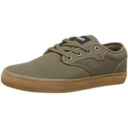 Globe Motley, Zapatillas de Skateboarding para Hombre, Verde (Olive Brown/Gum 0), 47 EU