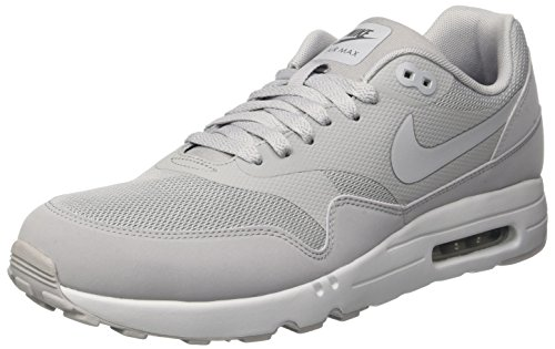Nike Air Max 1 Ultra 2.0 Essential, Chaussures de Course Homme Gris (Wolf Grey / Wolf Grey / Pure Platinum / Dark Grey)