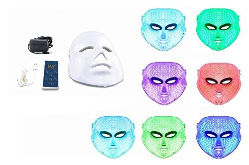 Beautystar 7 couleurs Lumière Photon LED électrique Masque facial peau...