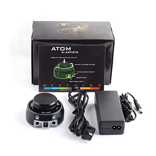 Digitale Power Control (Kongqiabona Tattoo Maschine ED-590 Tattoo Netzteil Rotary Control Tattoo Maschine Netzteil LCD Digital Power für Tattoo Maschine Tattoo-Kits)