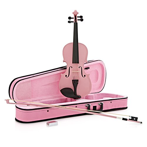 VIOLIN DE ESTUDIANTE 4/4 DE GEAR4MUSIC ROSA