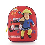 Vadobag Kinderrucksack 3D Kinderhelden Feuerwehrmann Sam