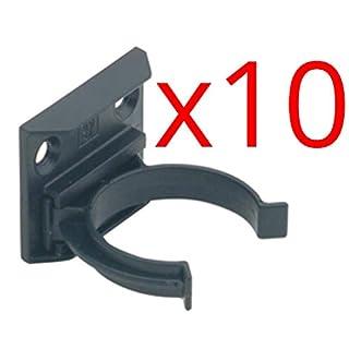 x10 Kitchen Plinth Leg Clips & Brackets Kick Board Plastic FITS 30MM Diameter Leg