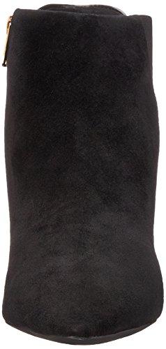 Rockport Total Motion Pointy Toe Layer Bootie 75mm Damen Kurzstiefel Black Kid/Leopard Hair