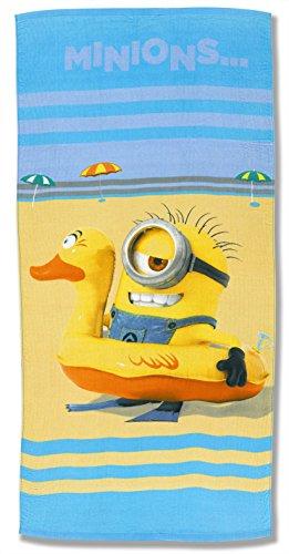 Minions – Toalla de Playa (Algodón)